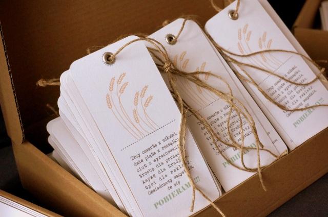 Indywidualne zaproszenia ślubne w stylu rustykalnym - Robimy śluby
